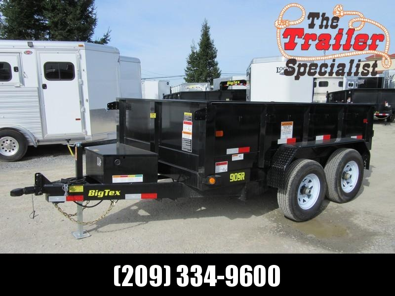 New 2019 Big Tex 90SR-10 6x10 10K GVW Dump Trailer