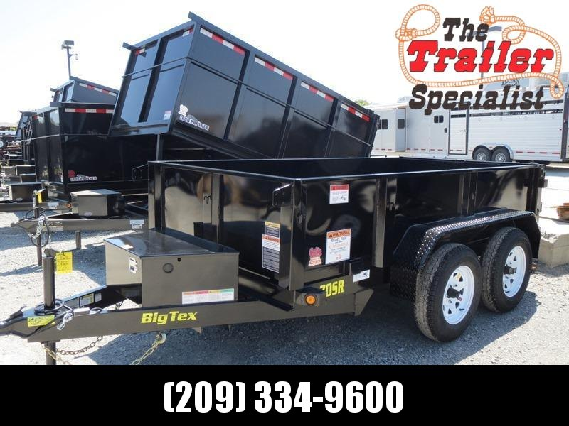 New 2018 Big Tex 70SR-10-5WDD 5x10 7K GVW Dump Trailer