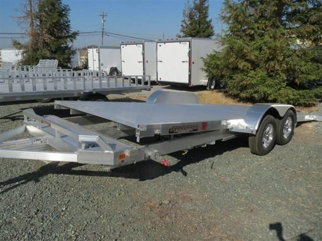 "New 2018 Aluma 8220TILT 82""x20' Car / Racing Trailer Vin 69752"