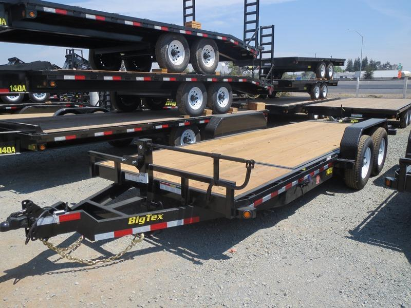 2017 Big Tex 14TL-20 7x20 14K GVW Equipment Trailer VIN:70052