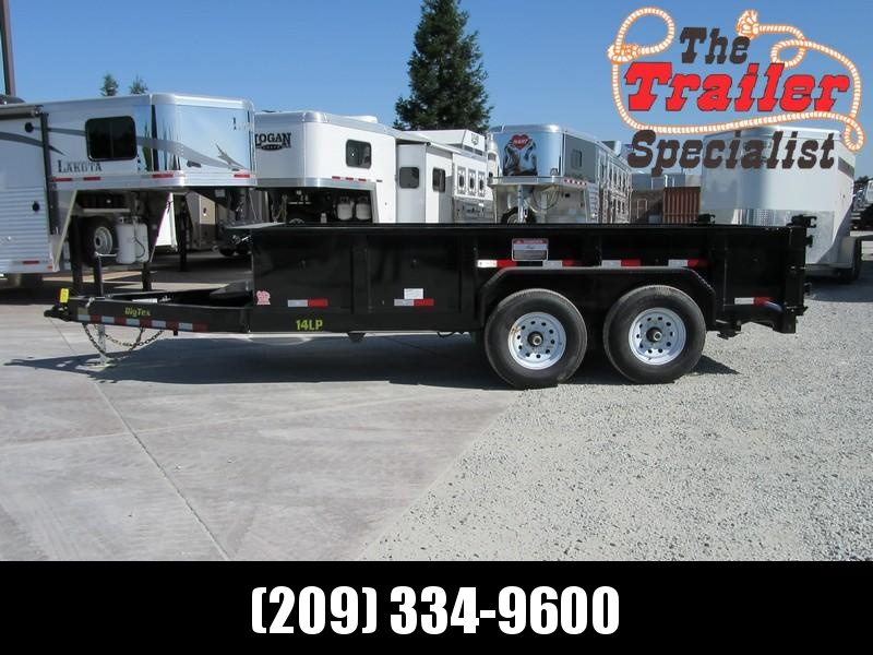 New 2018 Big Tex 14LP-14 7x14 14K Low profile Dump Trailer Vin99861