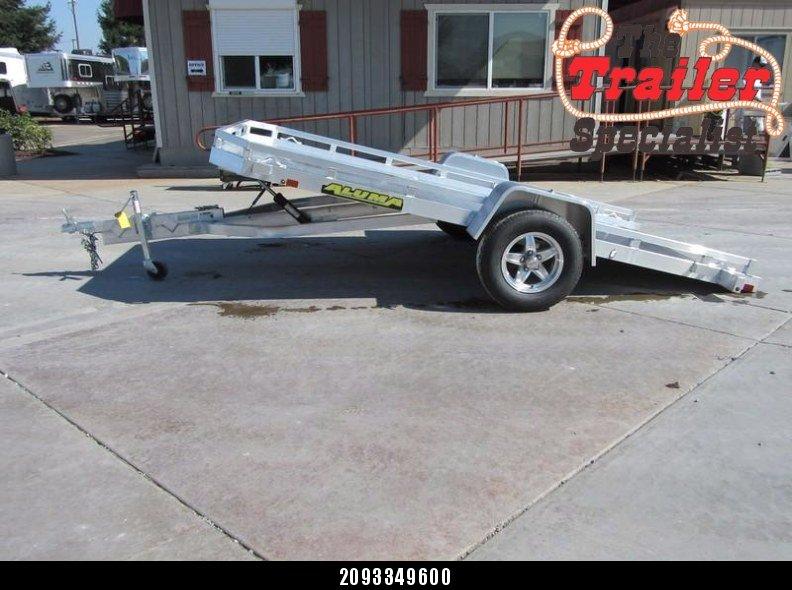 "New 2018 Aluma 7712Htilt 77""x12' aluminum utility trailer Vin 71226"