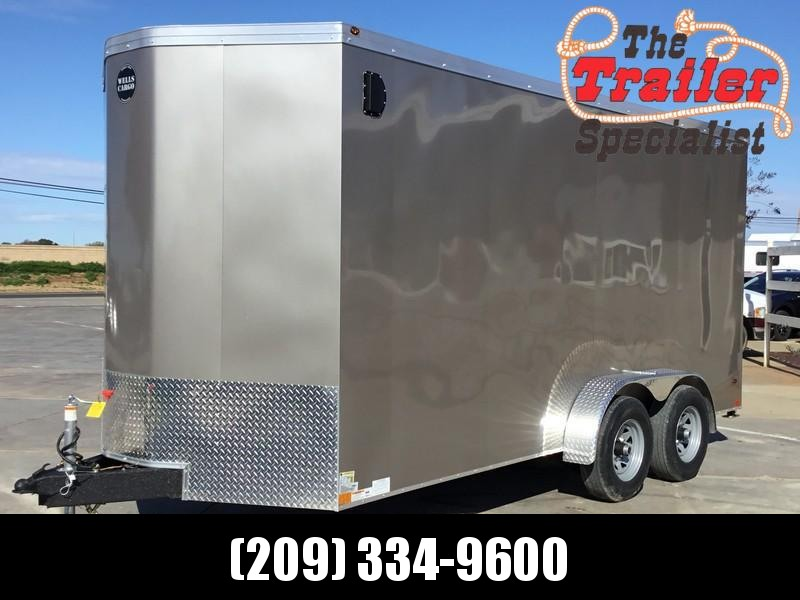 NEW 2019 Wells Cargo RFV716T3 7x16 Enclosed Cargo Trailer