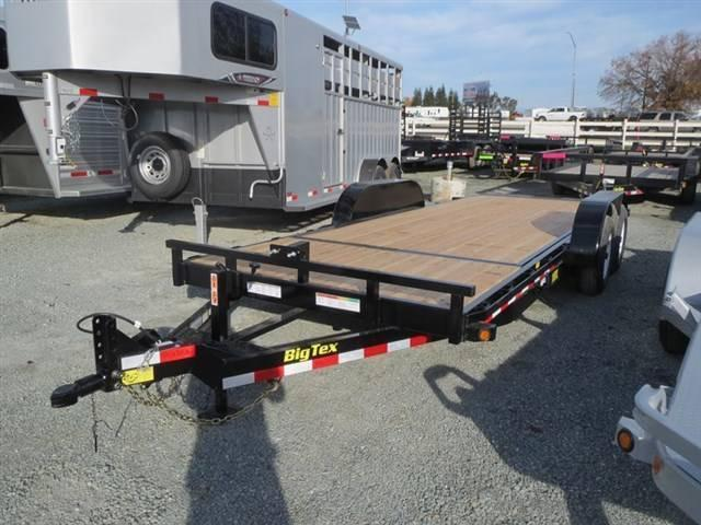 2017 Big Tex 10TL-20 80x 20 Tilt Equipment Trailer Vin:60134