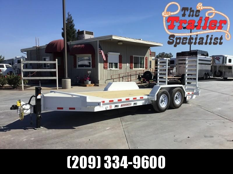 NEW Heavy Duty 2019 Midsota ST - 18 7x18' 15400 GVW Equipment Trailer