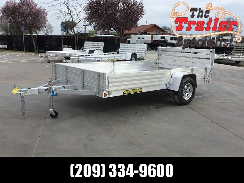 "NEW 2020 Aluma 8112SR 81""x12' Utility Trailer"