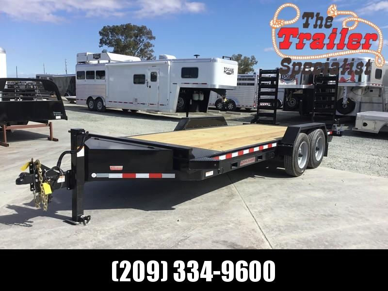 NEW Heavy Duty 2019 Midsota ST-18 7x18 15400 GVW Equipment Trailer