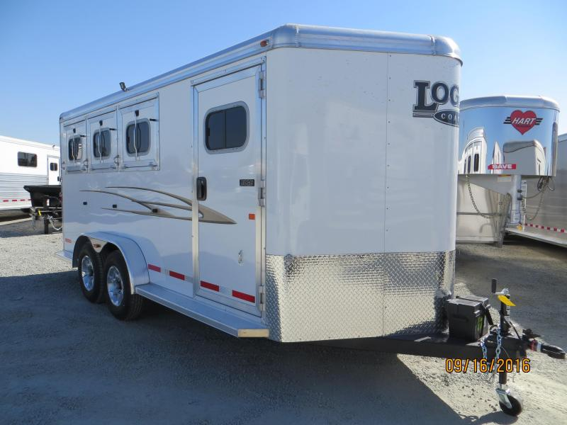 2016 Logan Coach 3H Edge HD BP Horse Trailer Vin:04701