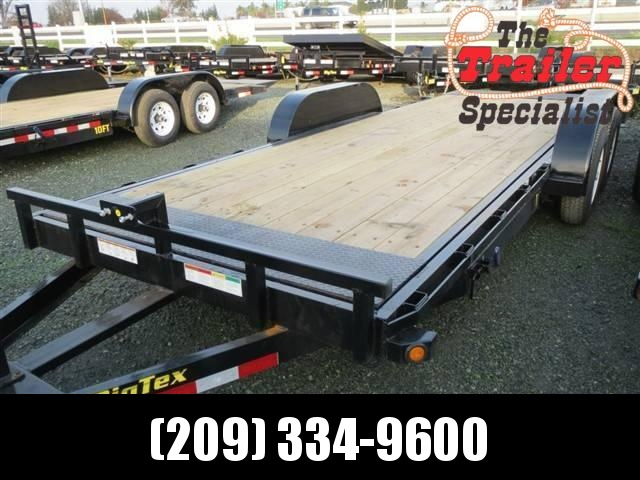 "2018 Big Tex 10FT-20 80""x20' Tilt Equipment Trailer VIN: 99607"