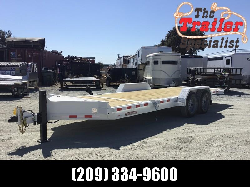 NEW Heavy Duty 2019 Midsota TB - 20 7x20' 15400 GVW Equipment Trailer