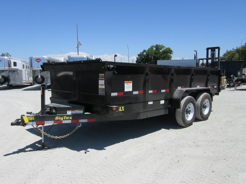 New 2017 Big Tex 14LX-16HJ 7x16 14K GVW Dump Trailer