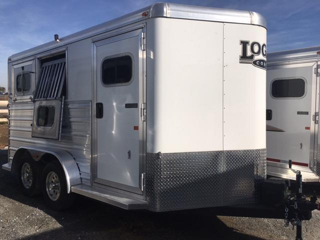 New 2016 Logan Razor 2H BP Horse Trailer VIN04683