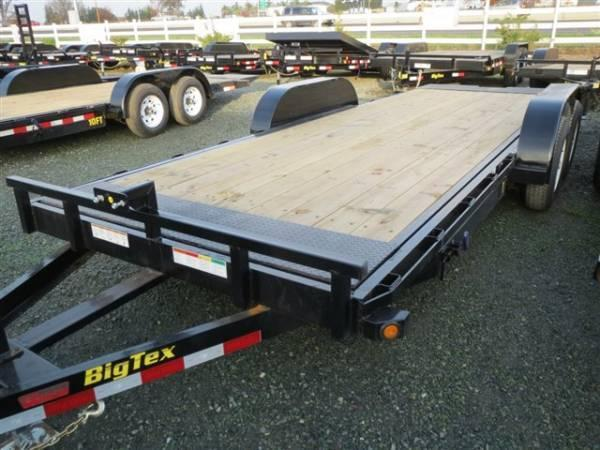 "New 2018 Big Tex 10FT-18 80""x18' Car Hauler or Equipment Trailer VIN:81617"