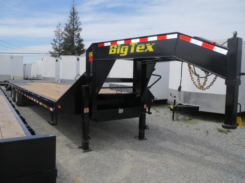 New 2018 Big Tex 25GN-25+5MR Equipment Trailer 8.5'x30' VIN17153