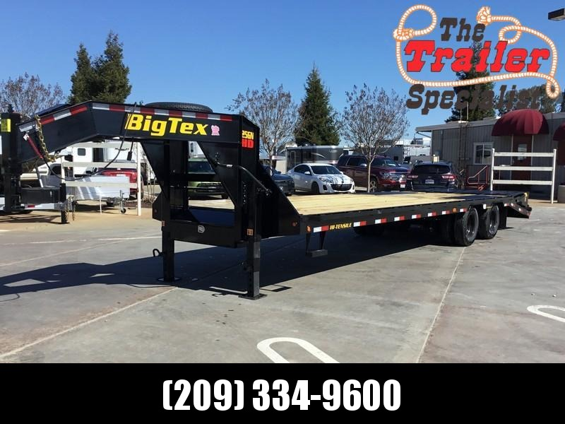 New 2020 Big Tex 25GN-25+5MR Equipment Trailer 8.5'x30'