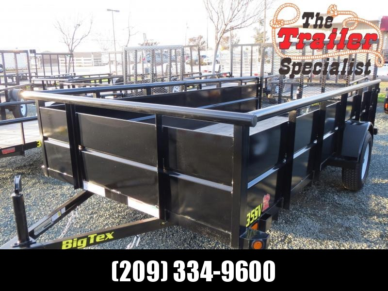 New 2019 Big Tex 35SV-14 6.5x14 Landscape Utility Trailer