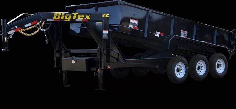 "NEW 2017 Big Tex 21GX-16 83""x16' Dump Trailer Vin53671"