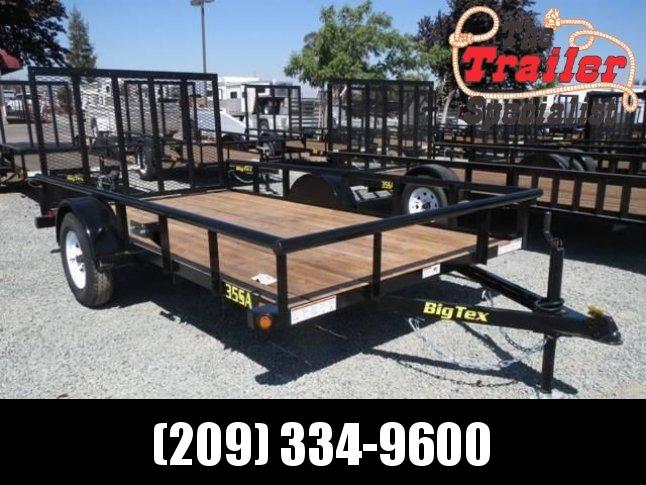 New 2018 Big Tex 35SA-12 6.5x12 Utility Trailer VIN:10994
