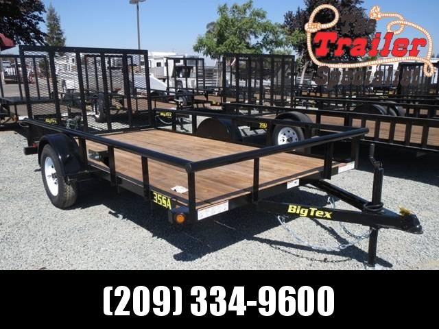 New 2018 Big Tex 35SA-12 6.5x12 Utility Trailer VIN:13174