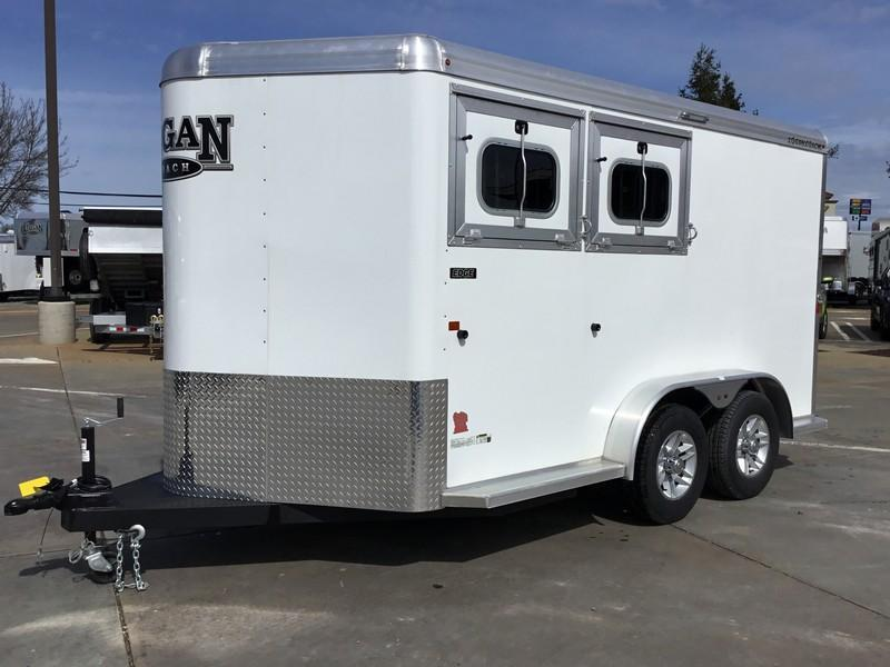 NEW 2019 Logan Coach 2 Horse Edge Horse Trailer