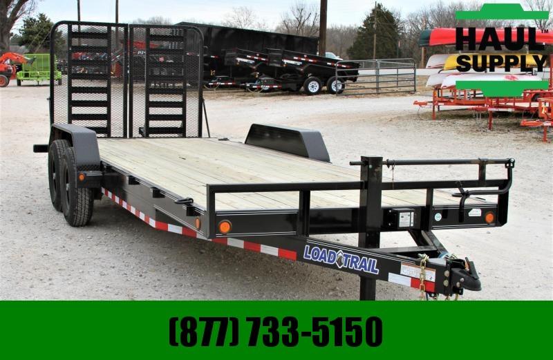 Load Trail CH83X22 14K Equipment Trailer HD Split Gate