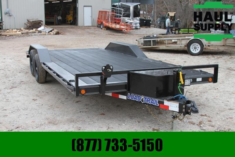 Load Trail 102X20 Rubberwood deck Drive over fenders