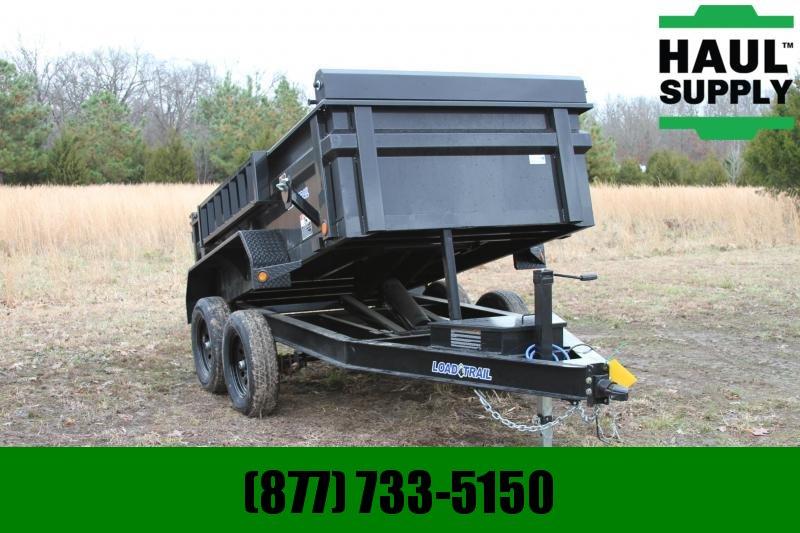 Load Trail 60X10 7K Dump Ramps Tarp 10ga Bed