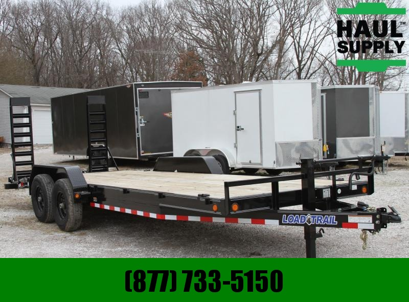 Load Trail 83X22 14K Equipment Trailer HD Frame Dove