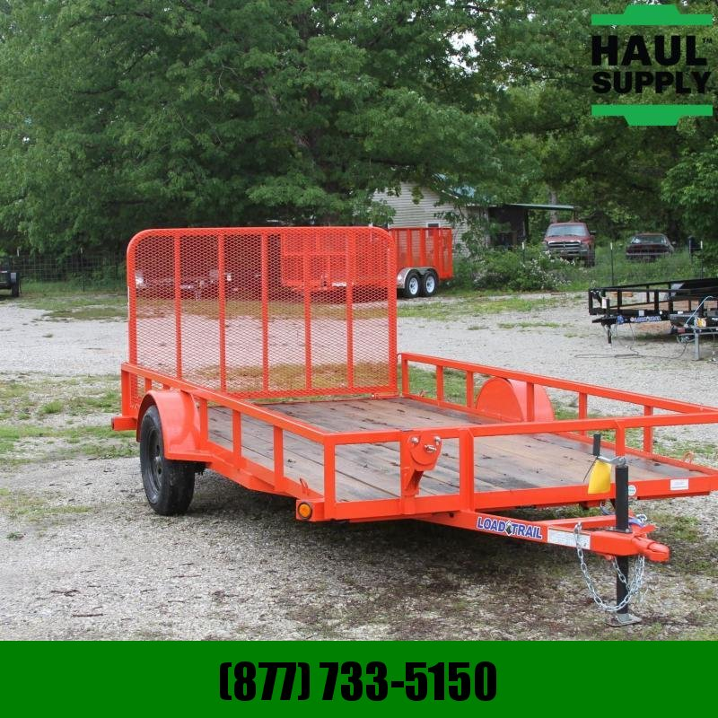 Load Trail 83X14 UTILITY TRAILER TUBE GATE RADIALS L