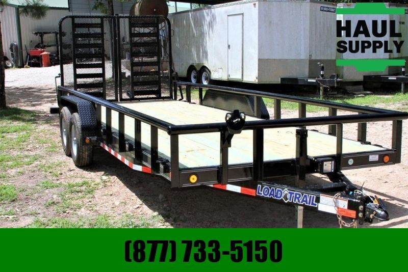 New 83X20 10K 5 ft. Split Gate Equipment Trailer Pipetop