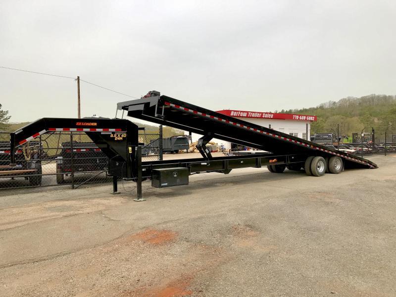 2019 Doolittle Trailer Mfg 102x40 Tilt Deck