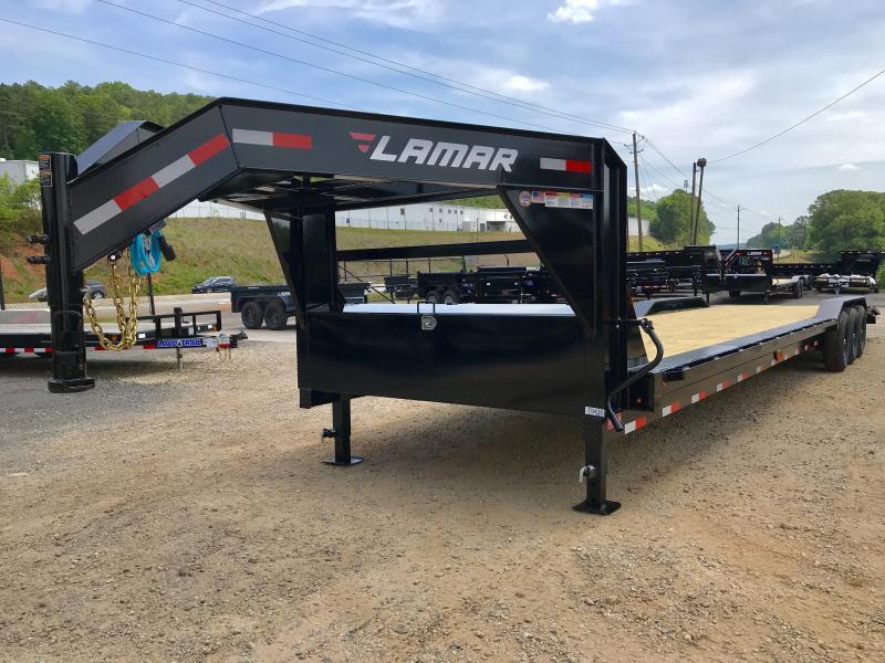 2019 Lamar Trailers HD21 Equipment Trailer