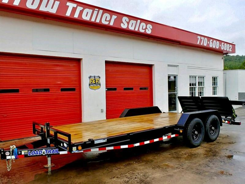 New Load Trail 20ft 10K Trailer W/Max Ramps