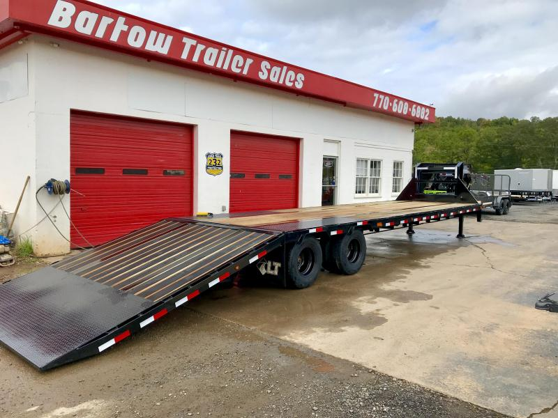 2020 Load Trail Hydraulic Dovetail Flatbed Trailer