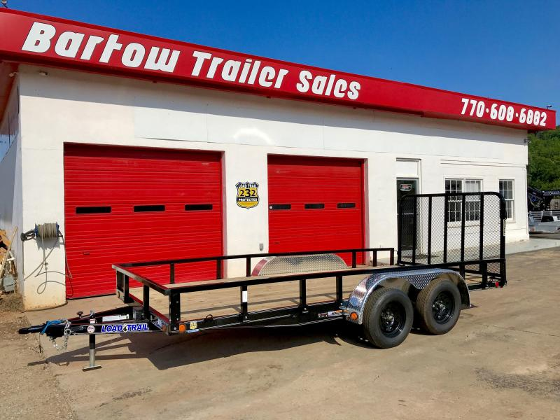 New Load Trail 16ft 7k Utility Trailer