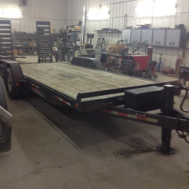 2006 Trailerman Trailers Inc. Contractors Special Equipment Trailer