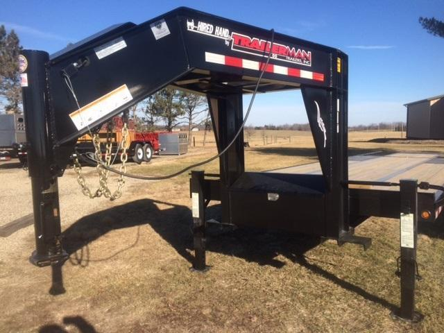 2017 Trailerman Trailers Inc. Hired Hand Hydraulic Dove