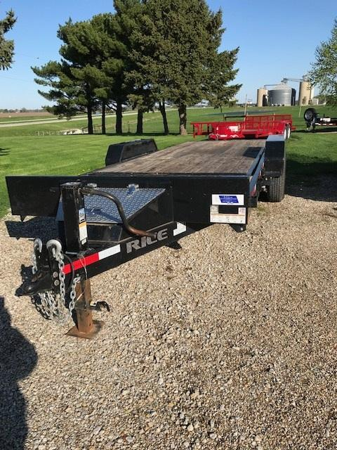 2017 Rice Tilt Equipment Trailer