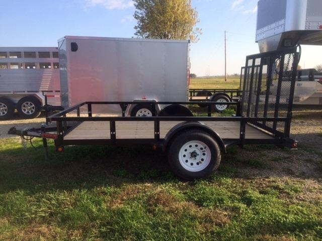 2017 Trailerman Trailers Inc. 77 X 10 Utility Trailer