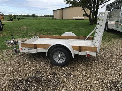 "2013 Featherlite 54"" X 8' Utility Trailer"