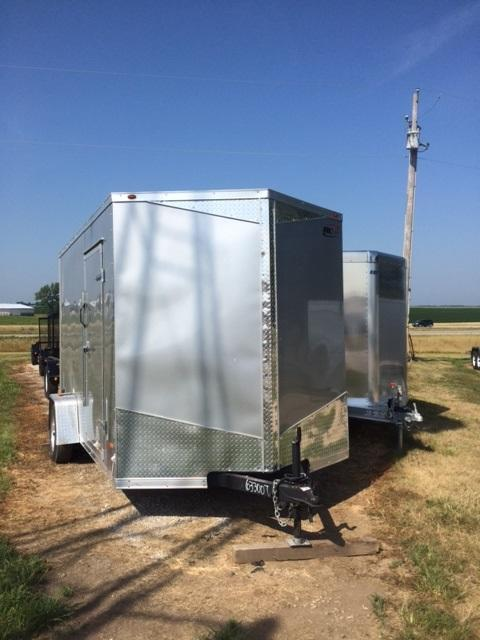 2017 Royal Cargo Trailers RWT 7 X 12 SA Enclosed Cargo Trailer