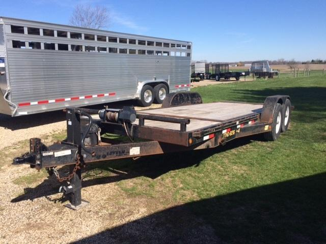 2008 Doolittle Trailer Mfg Tilt Equipment Trailer