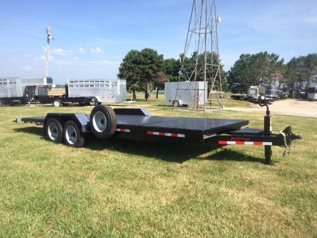 2018 Imperial H.D. 22' Slitfloor Wideboy Equipment Trailer