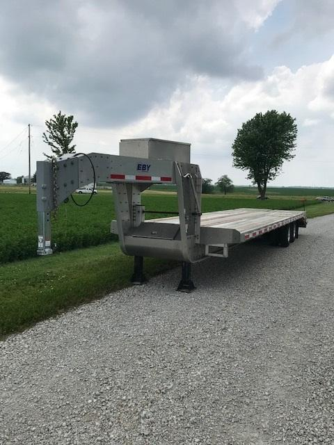 2018 EBY Deckover Equipment Trailer