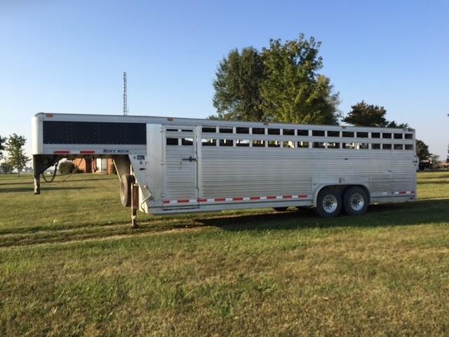 2012 Eby Trailers 8 X 26 Ruffneck Livestock Trailer
