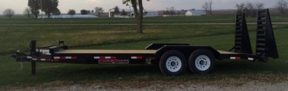2017 Trailerman Trailers Inc. Contractors Special Equipment Trailer