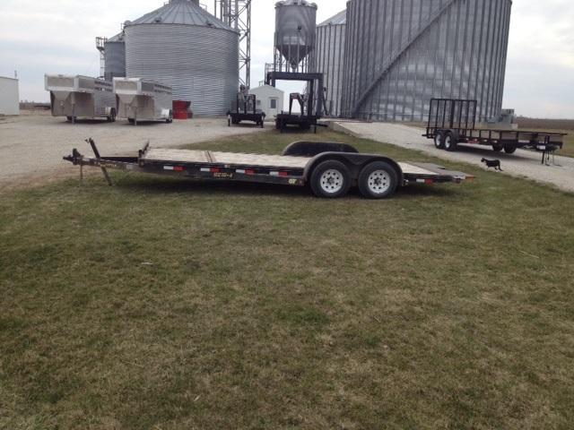 2008 Doolittle Trailer Mfg Tilt Bed Equipment Trailer