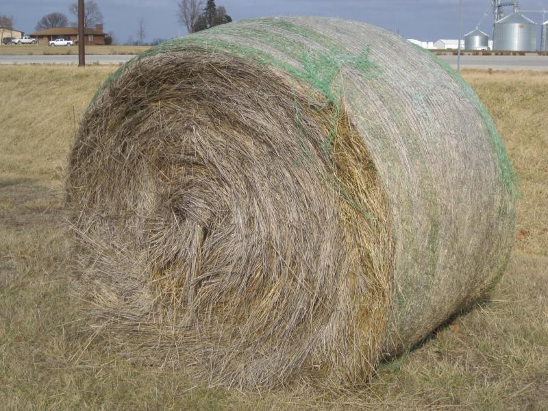 Round Bales Hay