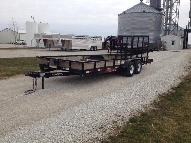 2016 Trailerman Trailers Inc. 20 Utility Trailer