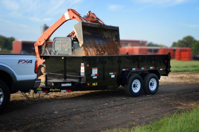 2018 Big Tex 7x14 14k Dump Trailer